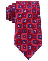 Peter Thomas | Red Floating Diamond Tie for Men | Lyst
