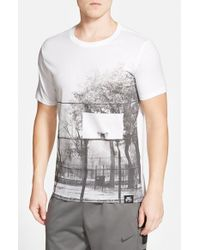 Nike | Gray 'af-1 Brooklyn Court' Sportswear T-shirt for Men | Lyst
