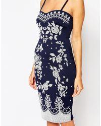 Lipstick Boutique   Blue Carola Bandeau Dress   Lyst