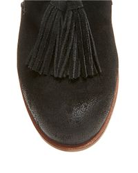 Steve Madden | Black Create Suede Flats | Lyst