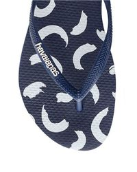 Havaianas | Blue Flip Flops | Lyst