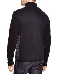 BOSS - Black Pizzoli 36 Milano Rib Quilted Nylon Jacket for Men - Lyst