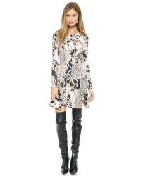 Just Cavalli - Varsavia Print Dress Black - Lyst