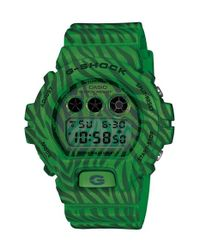 G-Shock | Green Zebra Print Digital Watch for Men | Lyst