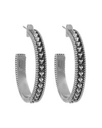 House of Harlow 1960 | Metallic Huaca Pyramids Large Hoop Earring | Lyst