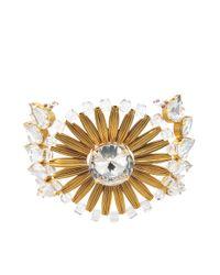 Tataborello | White Dione Plexi Crystal Cuff | Lyst