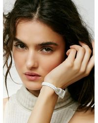 Free People | White Soul Makes Womens Crystal Visions Bracelet | Lyst