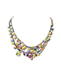 Tom Binns | Blue Midnight Riot Necklace | Lyst