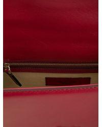 Valentino - Red Medium Glam Lock Shoulder Bag - Lyst