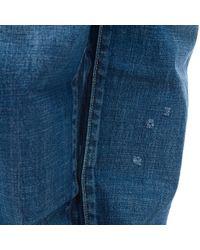 Visvim - Blue Social Sculpture 10 Damaged-12 Denim for Men - Lyst