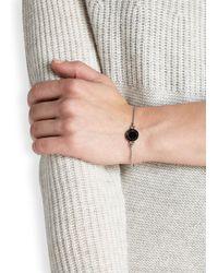 Marc By Marc Jacobs | Logo Disc-o Black Enamel Bracelet | Lyst