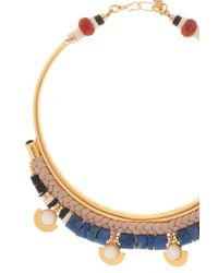 Lizzie Fortunato | Multicolor Oasis Gold Brass Collar Necklace | Lyst
