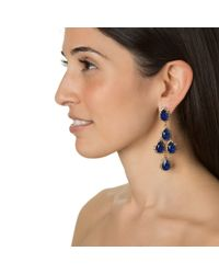 Erickson Beamon | Blue Duchess Of Fabulous Sapphire Earrings | Lyst