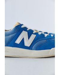 New Balance - Blue Heritage Court 300 Sneaker for Men - Lyst