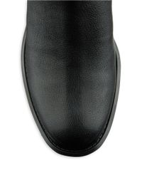 Nine West | Black Just This Leather Booties | Lyst