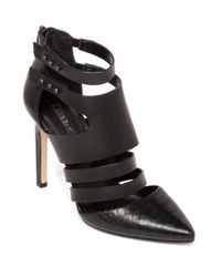 BCBGeneration | Black Canon Leather Stilettos | Lyst