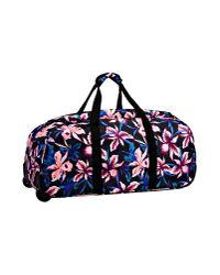 Roxy - Black Wheeled Luggage - Lyst
