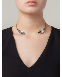 Lara Bohinc | Metallic 'fauna' Choker Necklace | Lyst