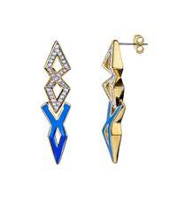 Noir Jewelry | Metallic Grenadines Earring | Lyst