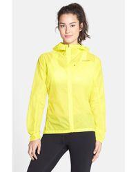 Patagonia | Yellow 'houdini' Running Jacket | Lyst