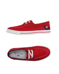 Pedro Del Hierro Madrid - Red Low-tops & Trainers for Men - Lyst