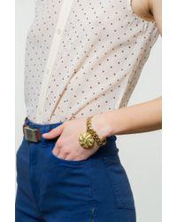 Lulu Frost - Metallic Victorian Plaza Charm Number Bracelet #9 - Lyst