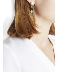 Joomi Lim | Multicolor Swarovski Faux Pearl And Crystal Earrings | Lyst