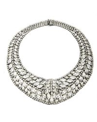 Elizabeth Cole | Metallic Taylor Necklace | Lyst