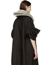 Junya Watanabe - Black Patent Stacked Necklace - Lyst