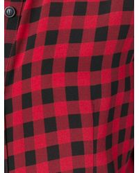 Woolrich - Black Classic Checked Shirt - Lyst