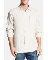 Tommy Bahama | Natural 'sea Glass' Linen Sport Shirt for Men | Lyst