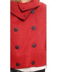 Rag & Bone - Harper Coat - Red - Lyst