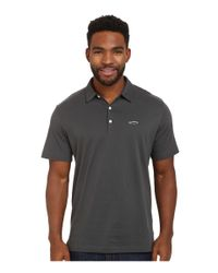 Patagonia | Gray Trout Fitz Roy Polo for Men | Lyst