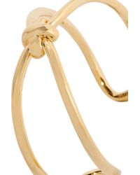 Giles & Brother | Metallic Gold-plated Bracelet | Lyst