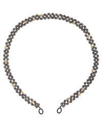 Sevan Biçakci | Yellow Sevan Biçakçi Textured Bead Open-Ended Chain-Colorless | Lyst