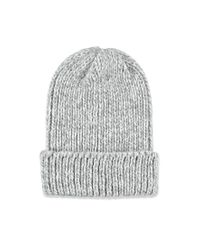 Forever 21 | Gray Fold-over Marled Knit Beanie | Lyst