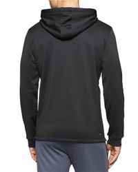 Calvin Klein | Black Performance Fleece Hoodie for Men | Lyst
