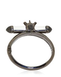 Eshvi | Black X-ray Bracelet | Lyst