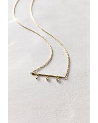 Ariel Gordon - Metallic Diamond Lumiere Necklace In 14K Gold - Lyst