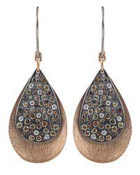 Todd Reed   Metallic 'autumn' Diamond Earrings   Lyst