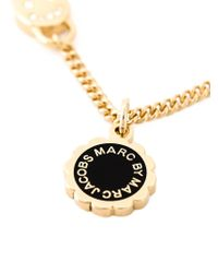 Marc By Marc Jacobs | Black Logo Disc Chain Necklace | Lyst