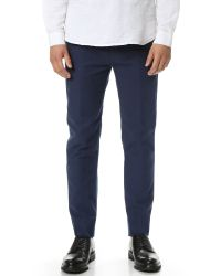 Marc By Marc Jacobs | Blue Brushed Cotton Pants for Men | Lyst