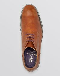 Robert Graham - Brown St. Marks Leather Chukka Boots for Men - Lyst