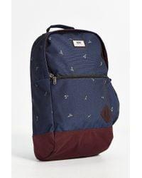 Vans | Blue Doren Ii Printed Backpack for Men | Lyst