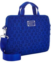 Marc Jacobs - Blue Dreamy Logo 13 Computer Case - Lyst