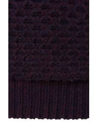 HUGO | Purple 'surtle' | Virgin Wool Textured Sweater for Men | Lyst