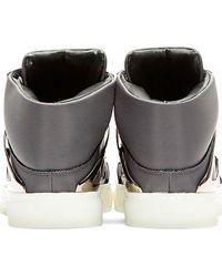Alejandro Ingelmo Gray Tron Sneaker for men