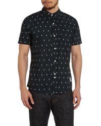 Bellfield - Black Shirt for Men - Lyst