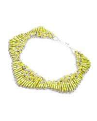Nakamol | Multicolor Starla Necklace-yellow | Lyst