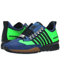 DSquared² | Black Sport Sneakers Ii for Men | Lyst
